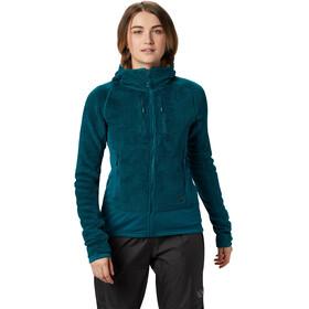 Mountain Hardwear W's Monkey Grid Hooded Jacket Dive